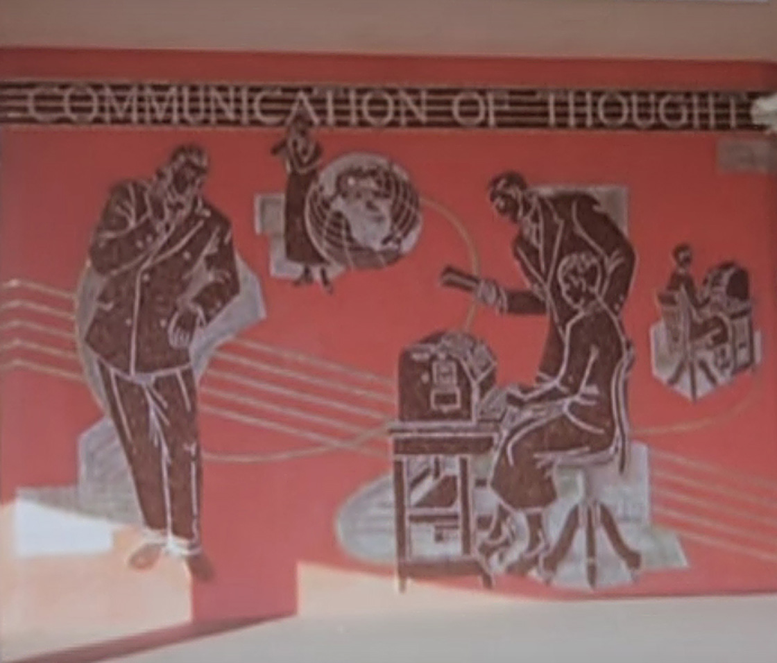 Detail of Communication of Thought by Sound and the Spoken Word