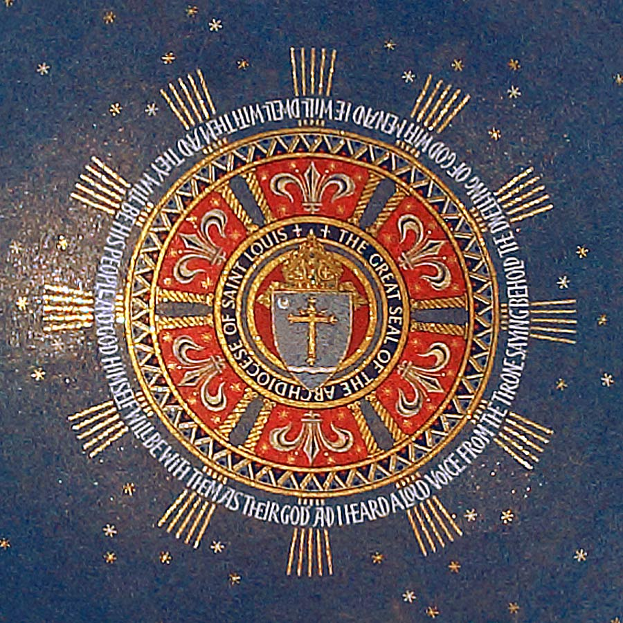 Detail, center of south dome