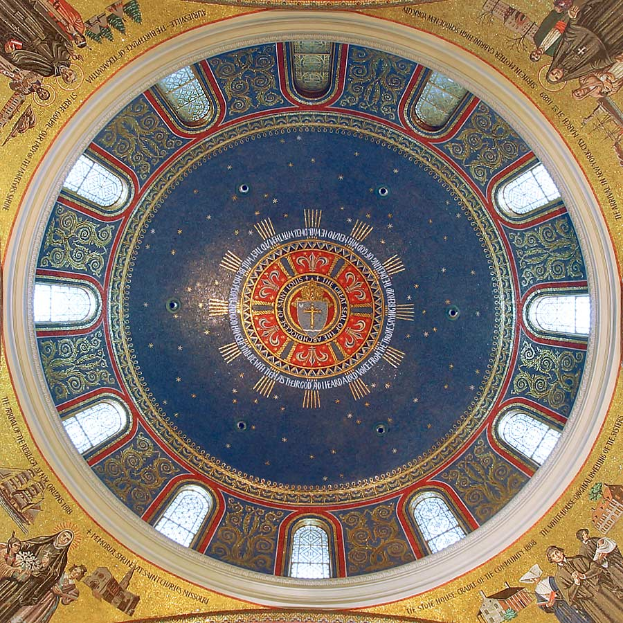 Cathedral Basilica of Saint Louis: North dome (Dome of the