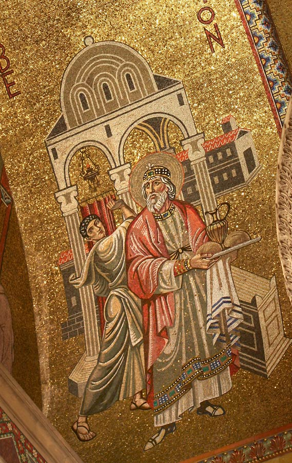 Detail of Melchizedek
