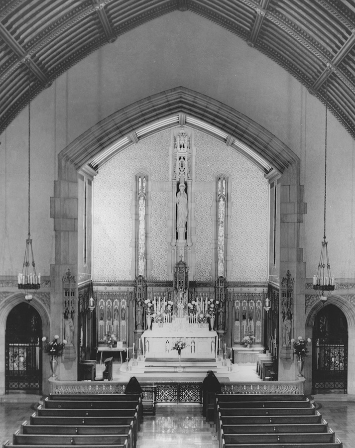 Main chapel at Convent of the Sacred Heart, Overbrook