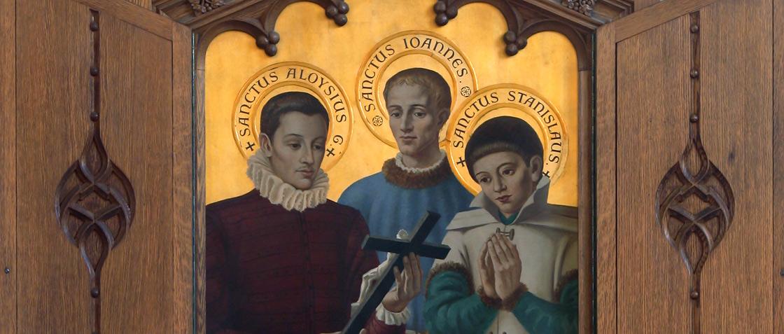 Side altarpieces Banner