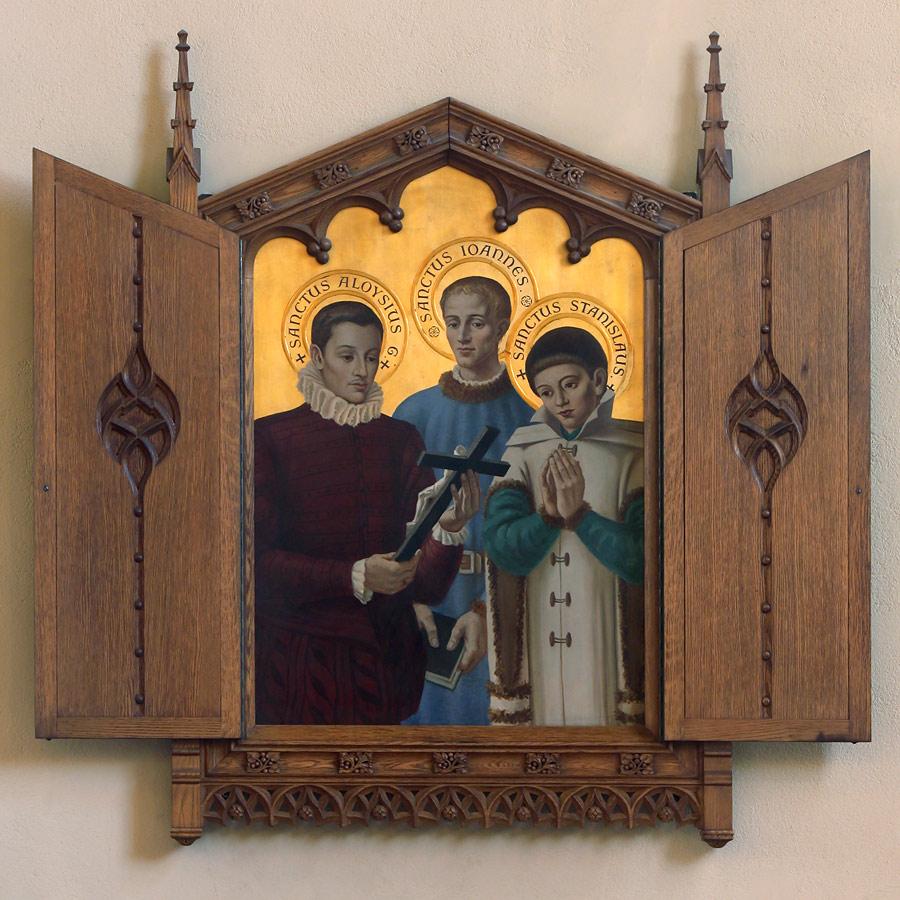 Saints Aloysius, John Berchmans, and Stanislaus Kostka