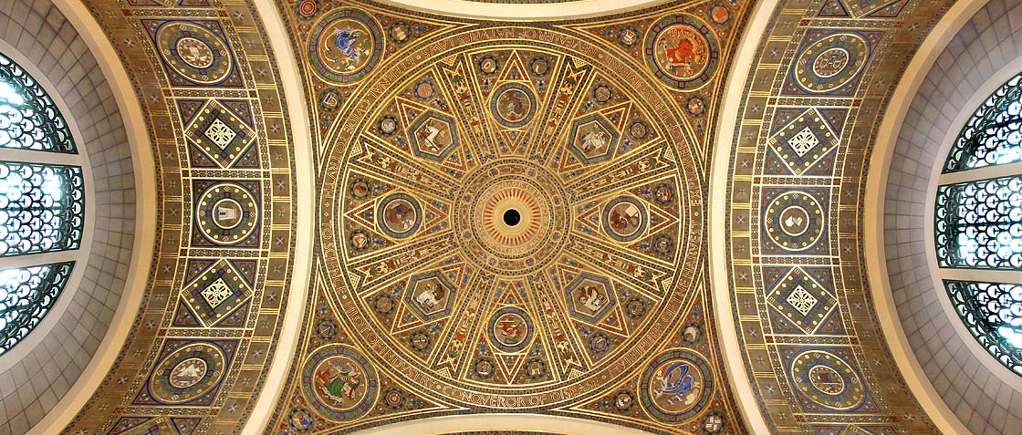 Great Hall dome Banner