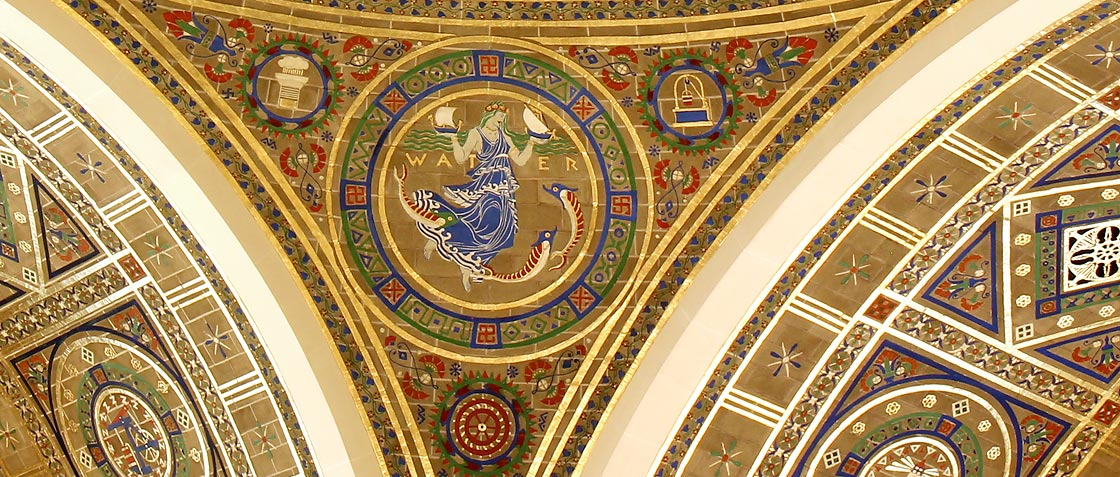 Great Hall pendentives Banner