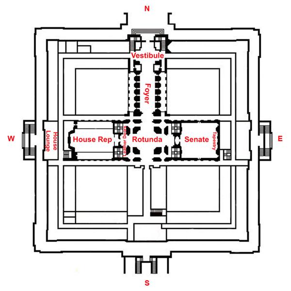 Diagram showing Meière