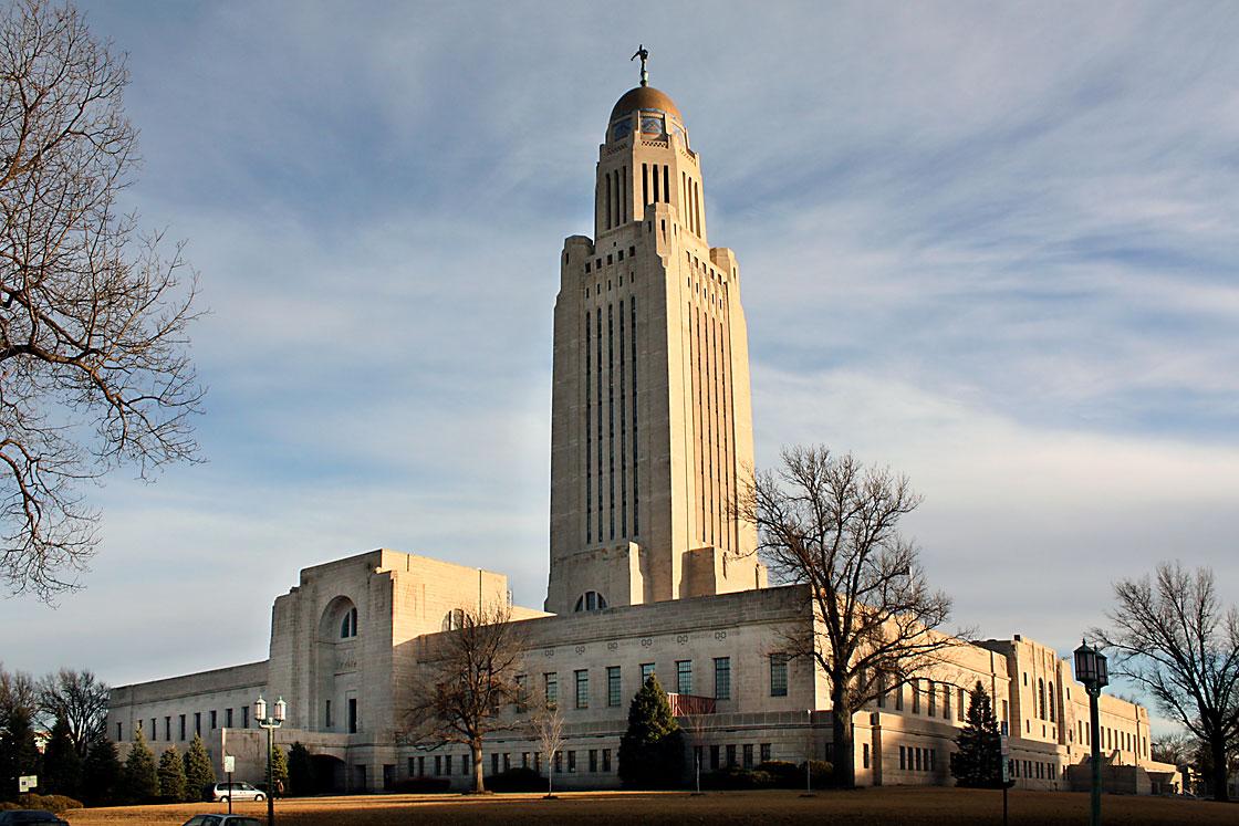 Bertram Grosvenor Goodhue, Nebraska State Capitol, 1920-32