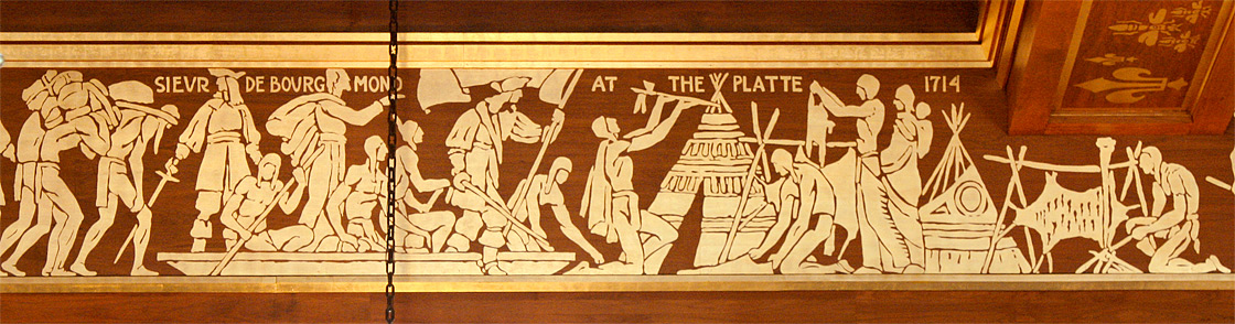 Sievr de Bourgmond [sic] at the Platte 1714