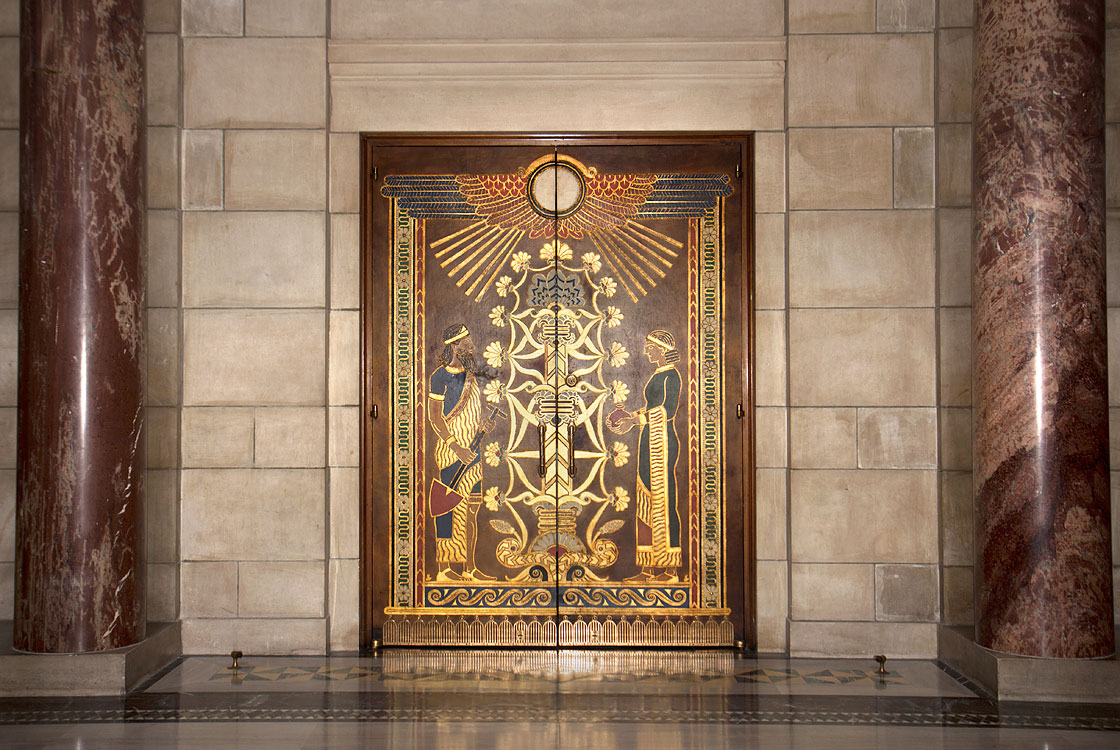 House of Representatives, entrance door from rotunda