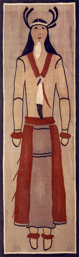 Meière had a sample tapestry woven of a Sun Dancer