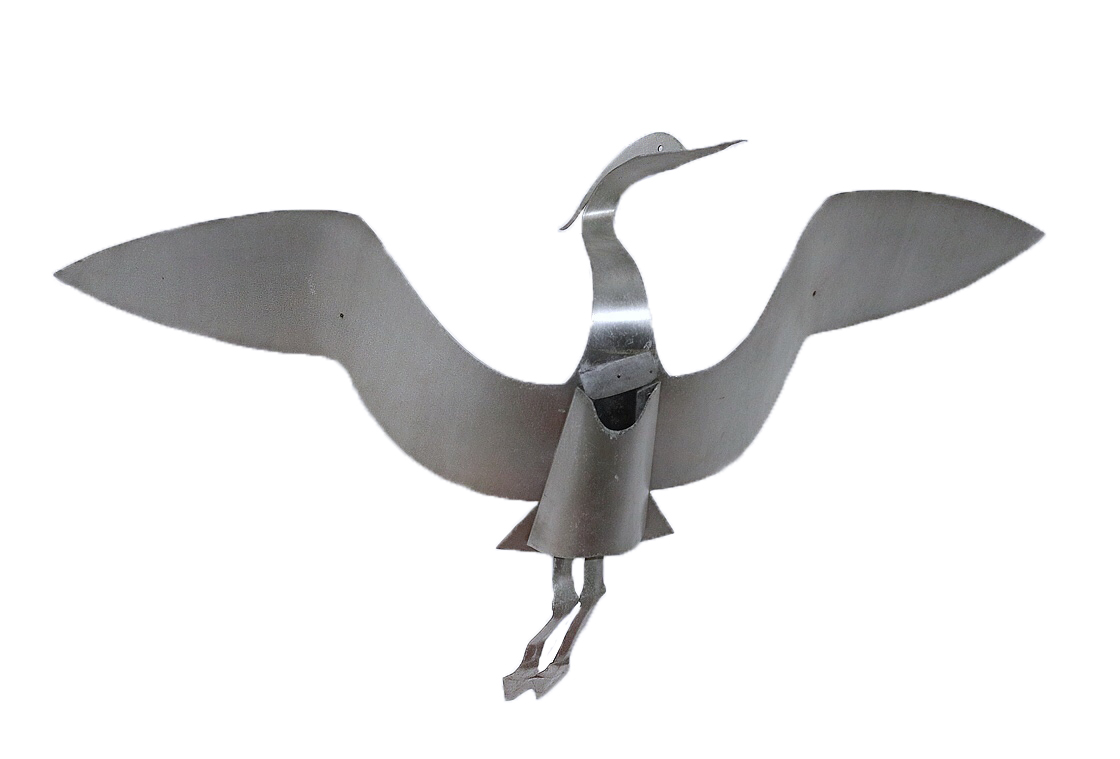 Early prototype of gull with long neck and legs