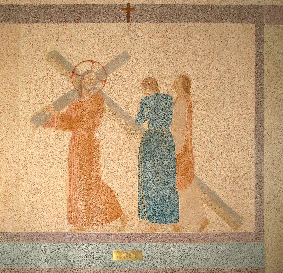 Jesus meets the women of Jerusalem, St. Charles Borromeo